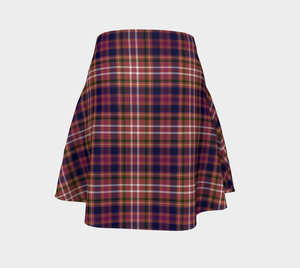 Equine Red Plaid - Women's - Canadian Made Ecopoly Skirt