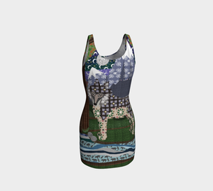Sun & Moon Howling About You - Bodycon Dress