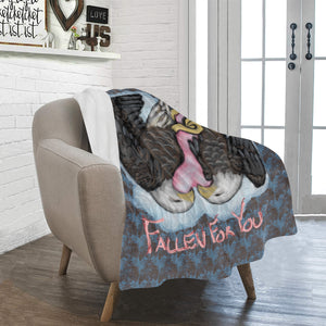 "I've Fallen for You - 30"" x 40"" Soft Fleece Blanket Ultra-Soft Micro Fleece Blanket 30''x40''"