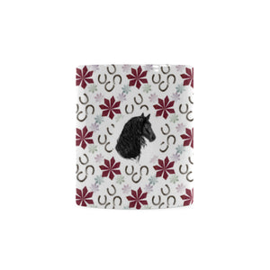 Friesian Horse Christmas - White Mug (11OZ)