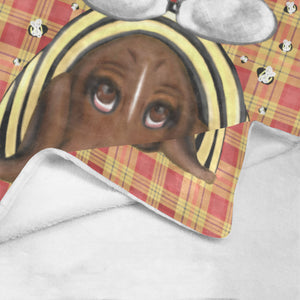 "Buzzing Mad - 30"" x 40"" Soft Fleece Blanket Ultra-Soft Micro Fleece Blanket 30''x40''"