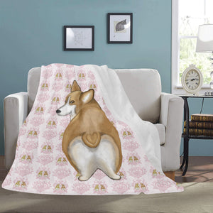 "Butt I Love You - Large Micro Fleece Blanket 60"" x 80"""