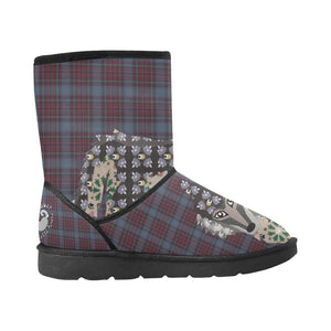 Spiritual Wolf - Women's - High Top Winter Boots