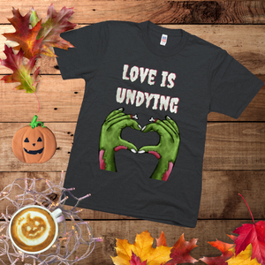 Love is Undying - Unisex - USA Made Jersey T-shirt