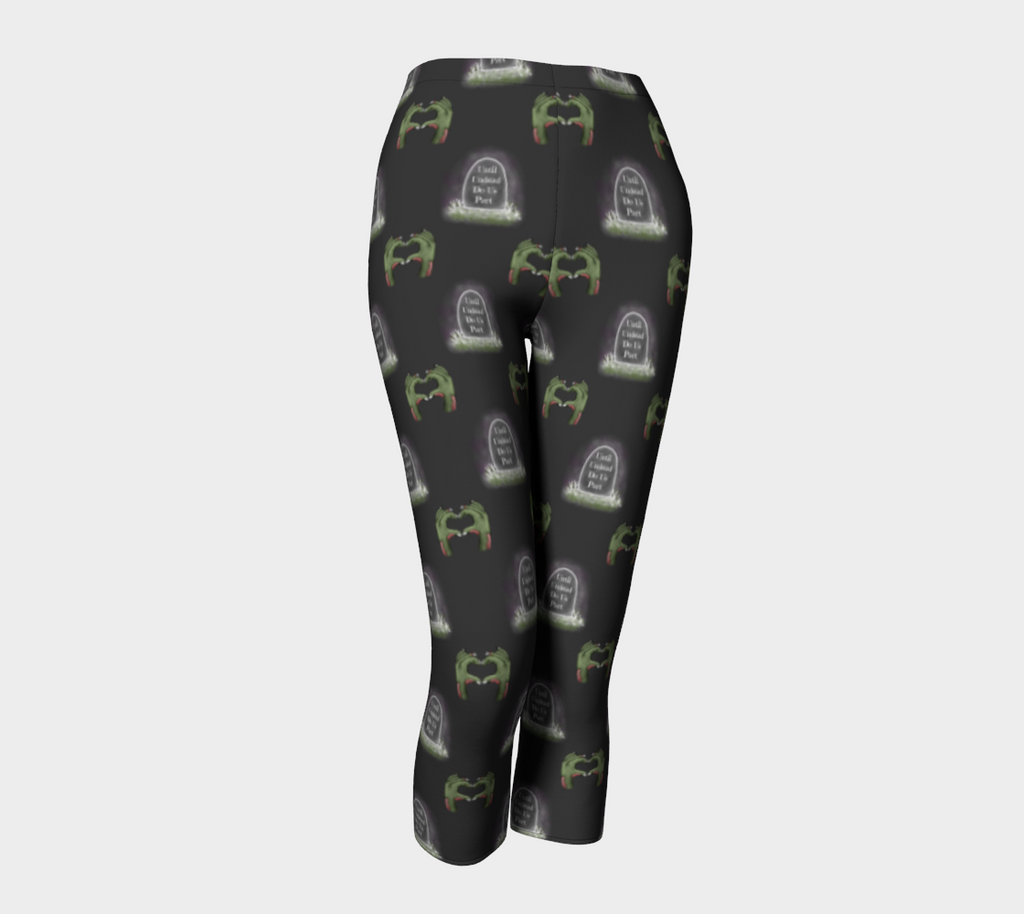 Until Undead Do Us Part - Women's - Comfy Canadian Made Ecopoly Capris