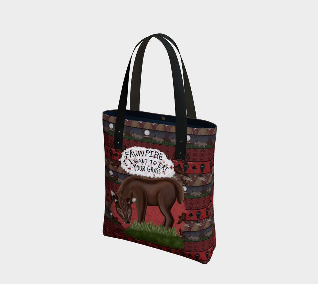 Fawnpire - Canadian Made Tote Bag