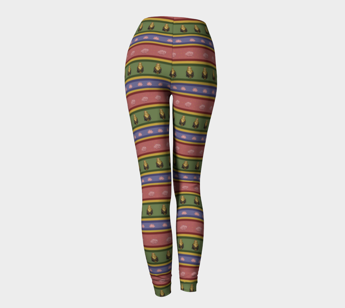 Zombie Buddha - Women's - Comfy Canadian Made Ecopoly Leggings