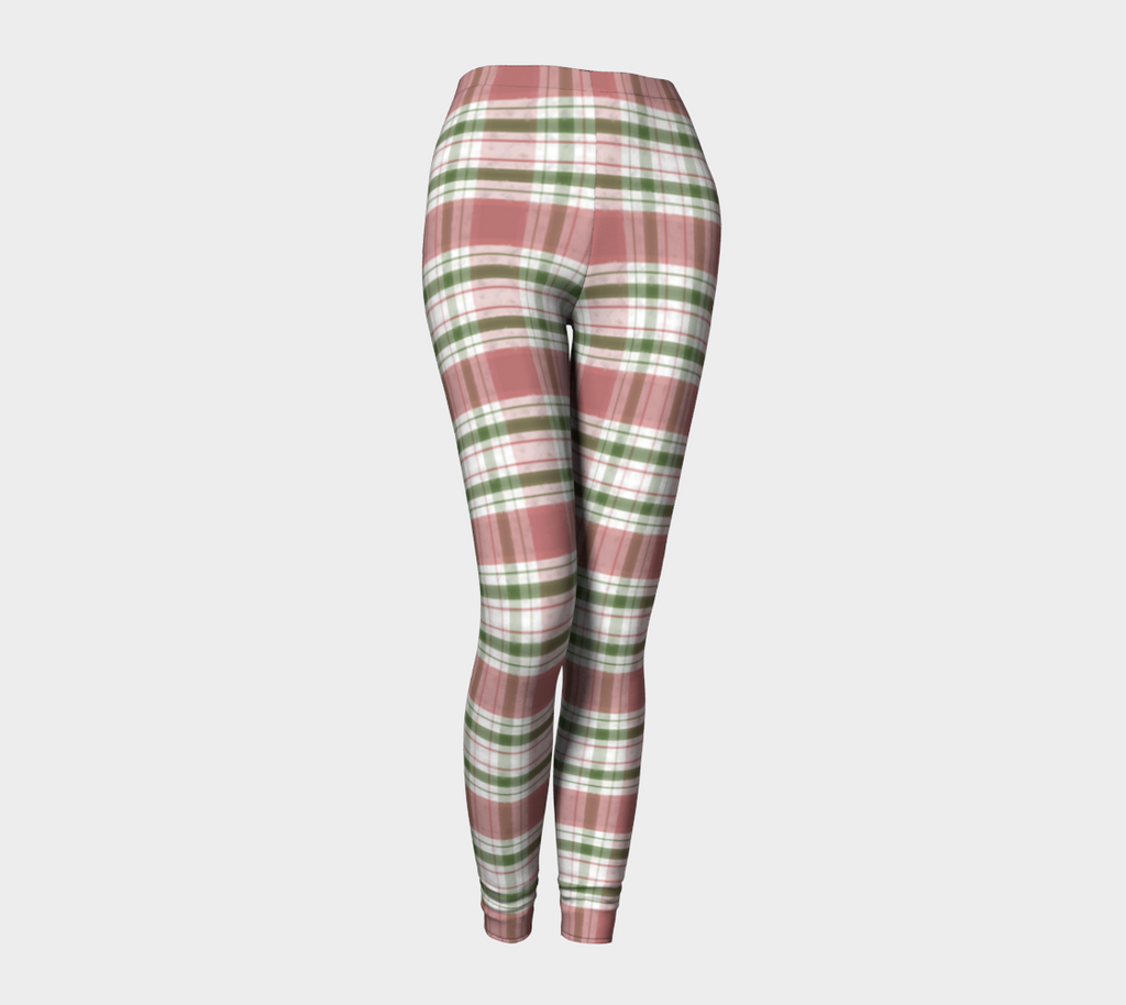 Mistletoe Plaid - Leggings