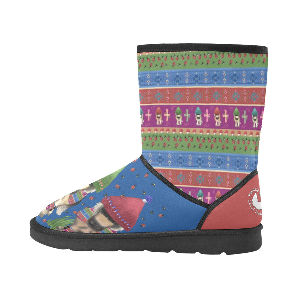 Fjord Entertainment - Women's - Comfy Boots Custom High Top Unisex Snow Boots