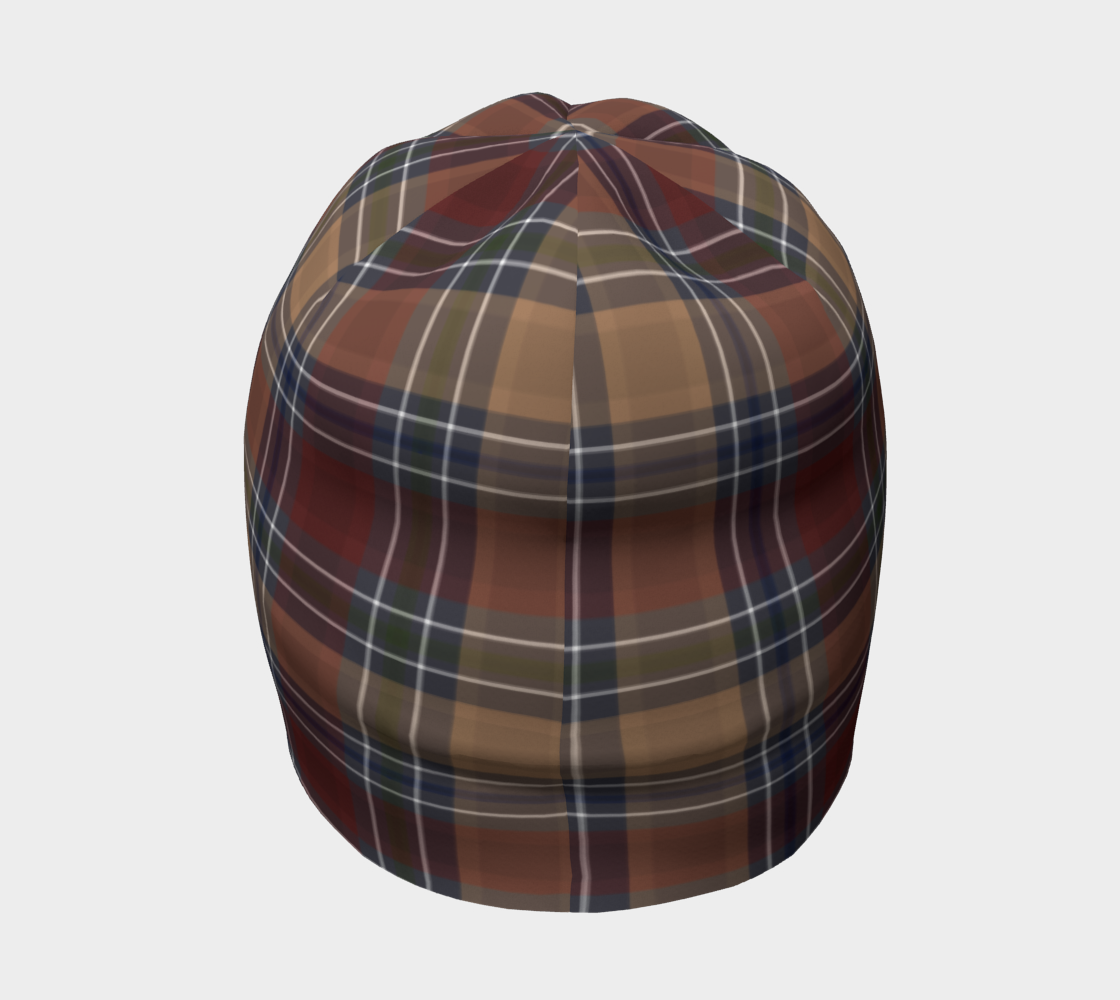 Fawnpire Plaid - Canadian Made Beanie