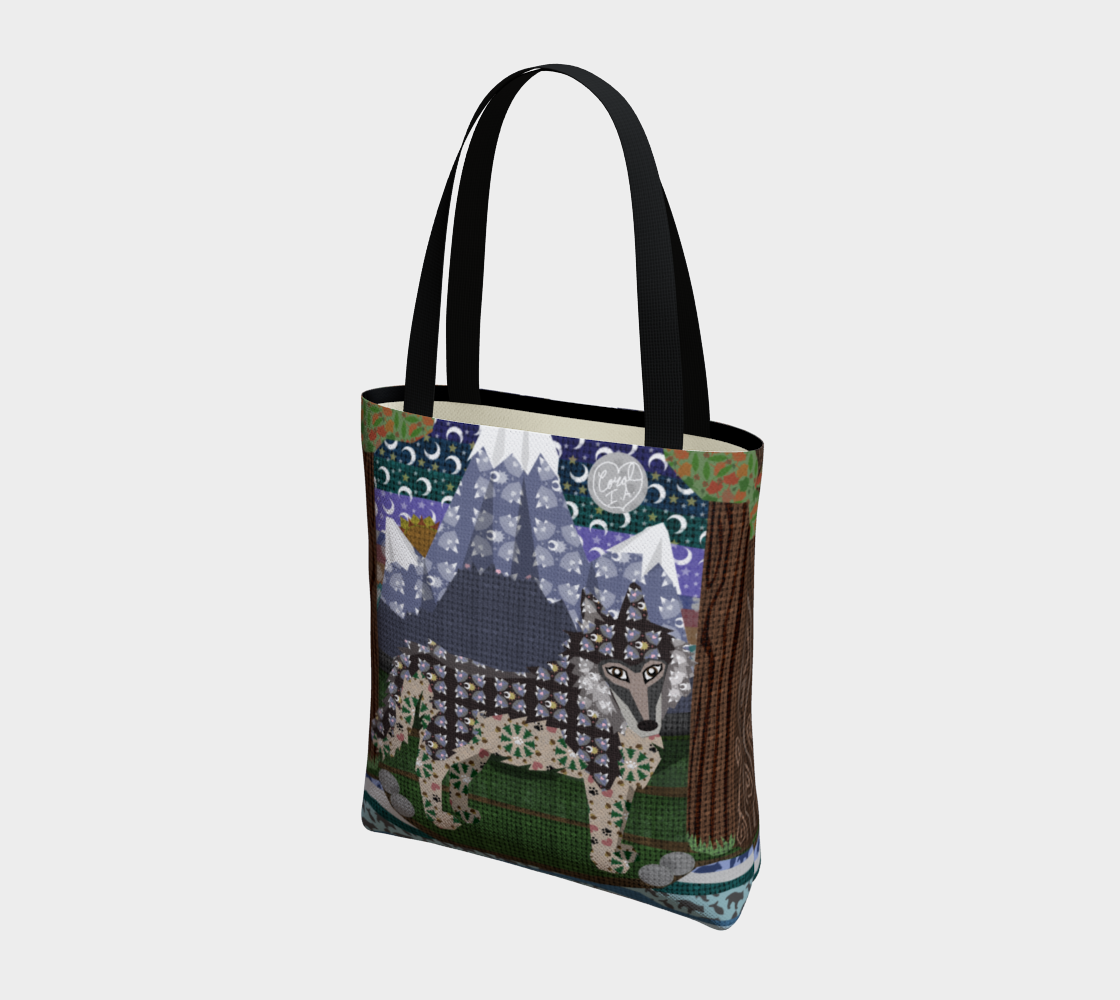 Sun & Moon Howling About You - Tote Bag