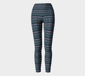 Native Print Leggings