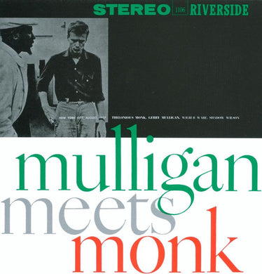 Gerry Mulligan And Thelonious Monk - Mulligan Meets Monk
