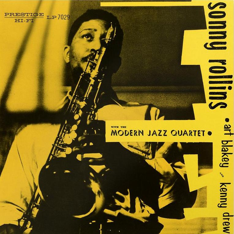 Sonny Rollins with The Modern Jazz Quartet - Blue vinyl