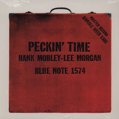 Hank  Mobley and Lee Morgan - Peckin' Time - MONO