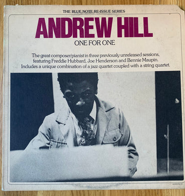 Andrew Hill - One For One