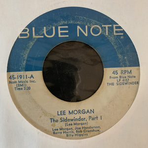 Lee Morgan - The Sidewinder - Original 7""