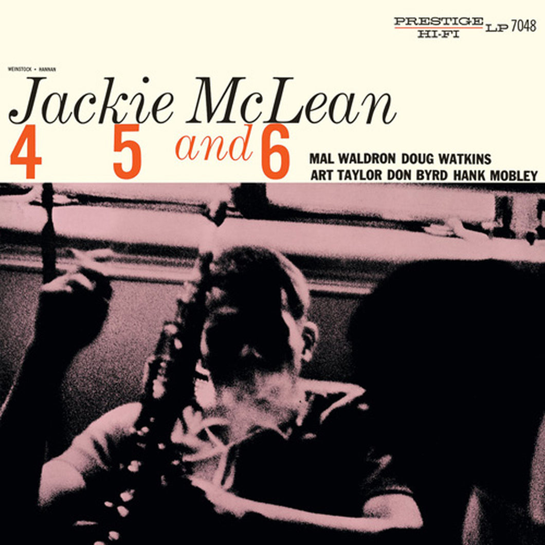 Jackie McLean - 4, 5, and 6 - MONO