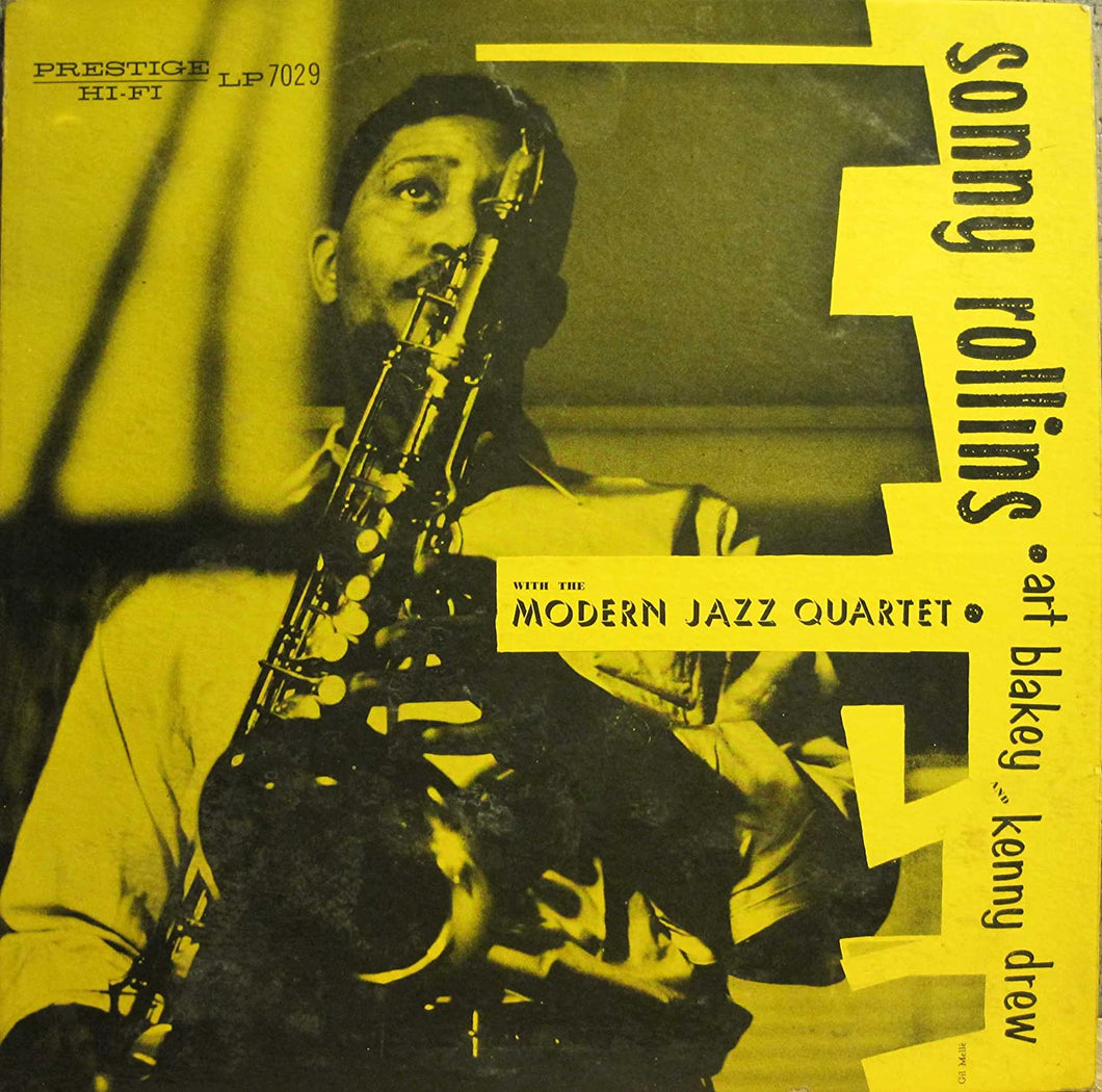 Sony Rollins with the Modern Jazz Quartet - MONO
