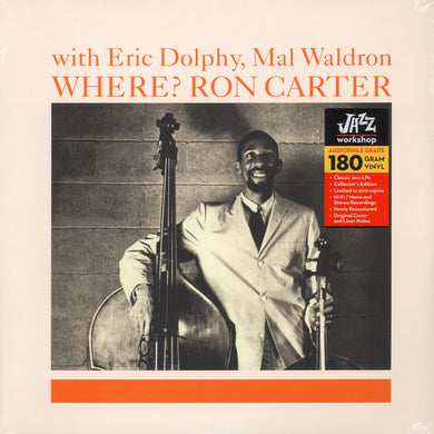 Ron Carter - Where? with Eric Dolphy, Mal Waldron