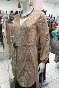 TUNIQUE GOLD SEQUIN