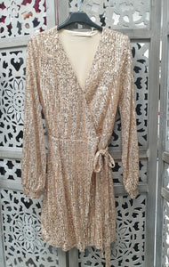 tunisue gold sequin hijab tunique jilbeb mode modeste fashion  Qalam Dress Boutique
