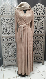 robe plissee satiné hijab tunique jilbeb mode modeste fashion  Qalam Dress Boutique