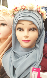 HIJAB A ENFILER ALL MOUSSELINE