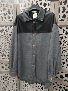 CHEMISE VESTE WOOL WINTER JENNAH