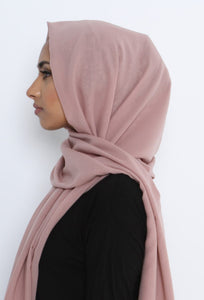 THE MAXI HIJAB LATIFA MOUSSELINE CARRE
