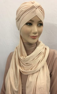 Hijab à enfiler - Turban