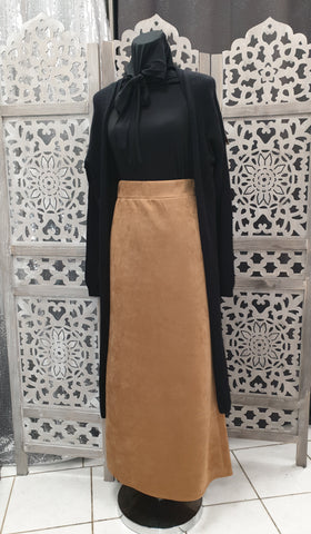 jupe haute daim hijab femme voilées hijab tunique jilbeb mode modeste fashion  Qalam Dress Boutique