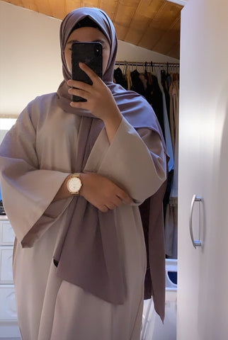 abaya montre femme addict  femme voilées hijab tunique jilbeb mode modeste fashion  Qalam Dress Boutique