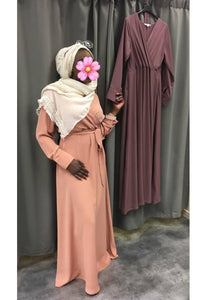 robe longue fluide hijab tunique jilbeb mode modeste fashion  Qalam Dress Boutique