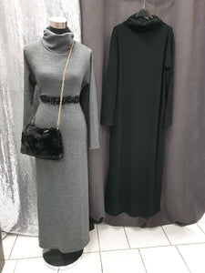 robe pull long chaud hijab tunique jilbeb mode modeste fashion  Qalam Dress Boutique
