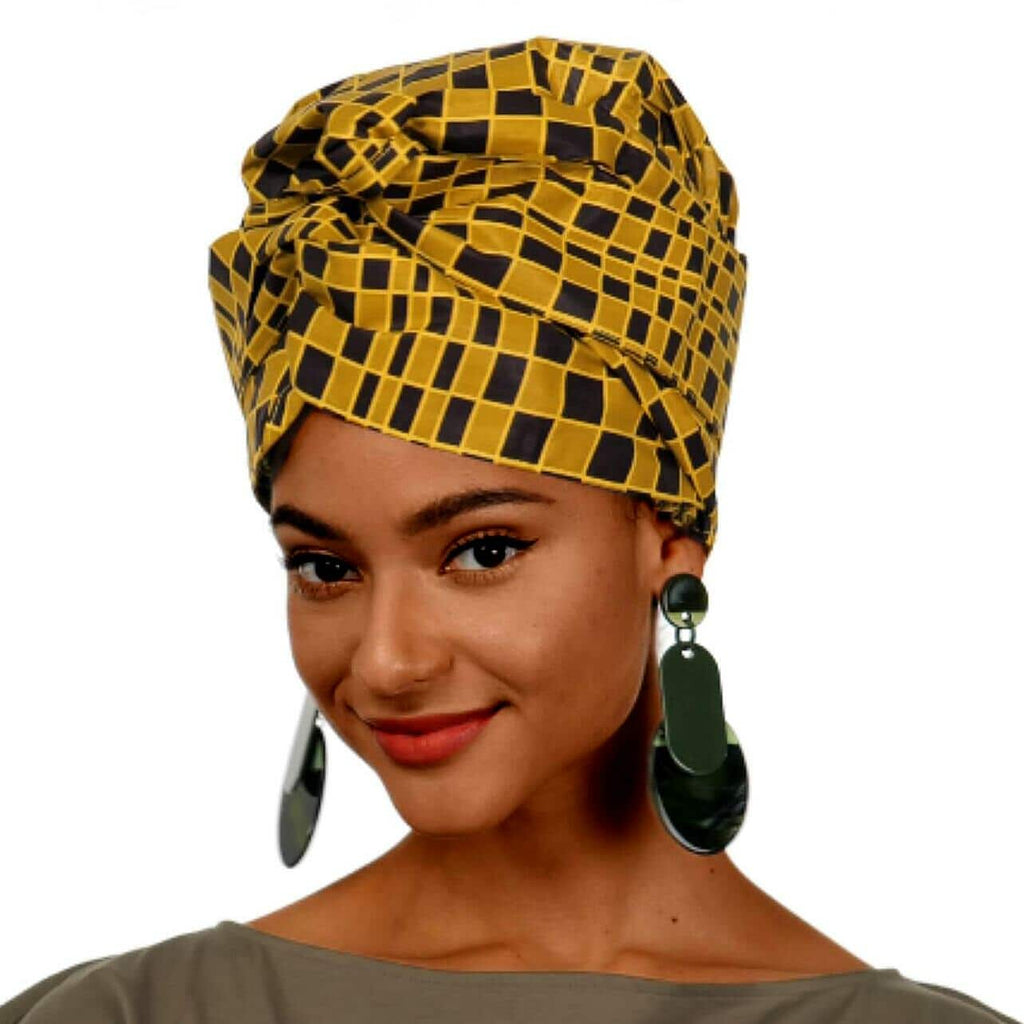 Cheetah | Headwrap Combined with Nightcap(2 in 1)| -AF1101