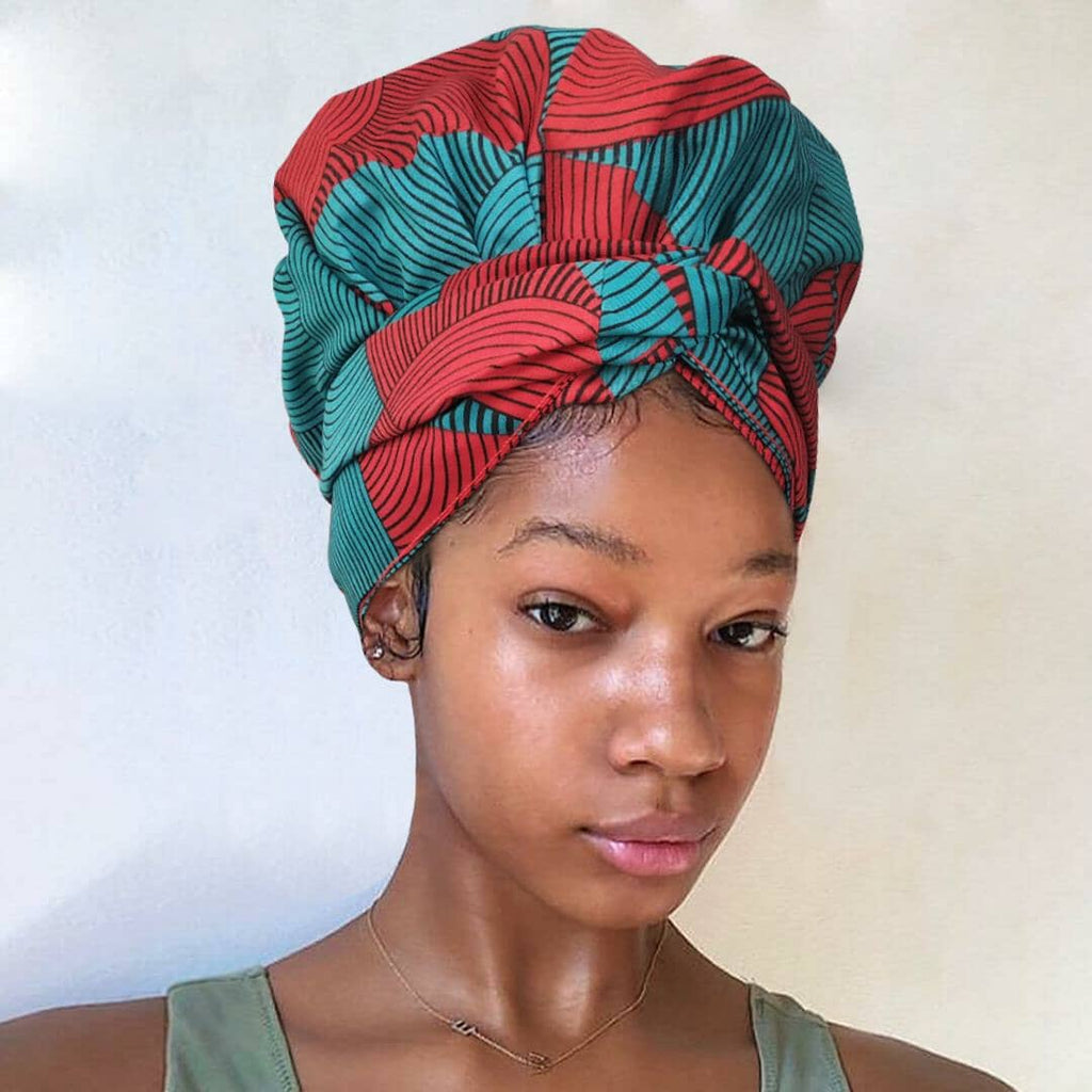 Jingle Bell | Headwrap Combined with Nightcap(2 in 1)| -AF1129
