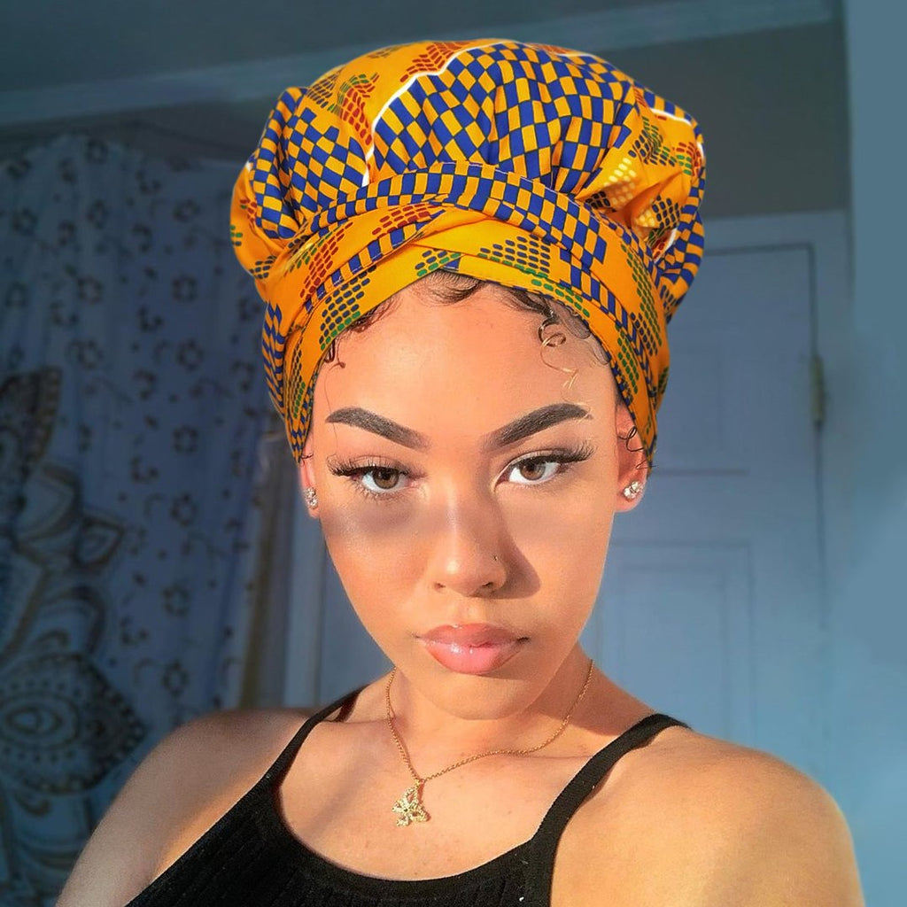 F1 |Headwrap Combined with Nightcap(2 in 1)-AF1157