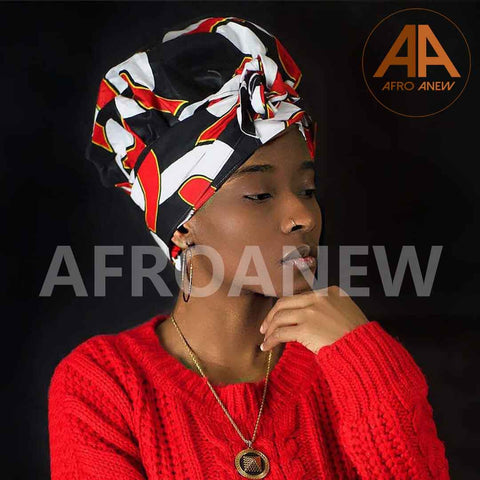 Vogue | Headwrap Combined with Nightcap(2 in 1)| -AF1102