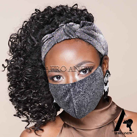 Face Covers with Satin Lining- K132