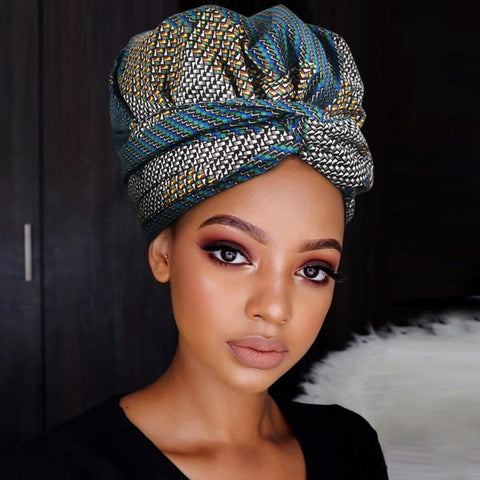 Chic | Headwrap Combined with Nightcap(2 in 1)| -AF1979