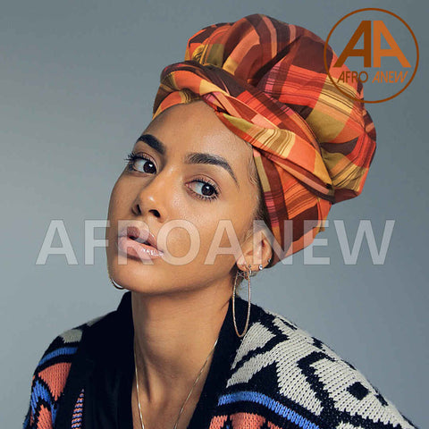 Quartz | Headwrap Combined with Nightcap(2 in 1)| -AF1992