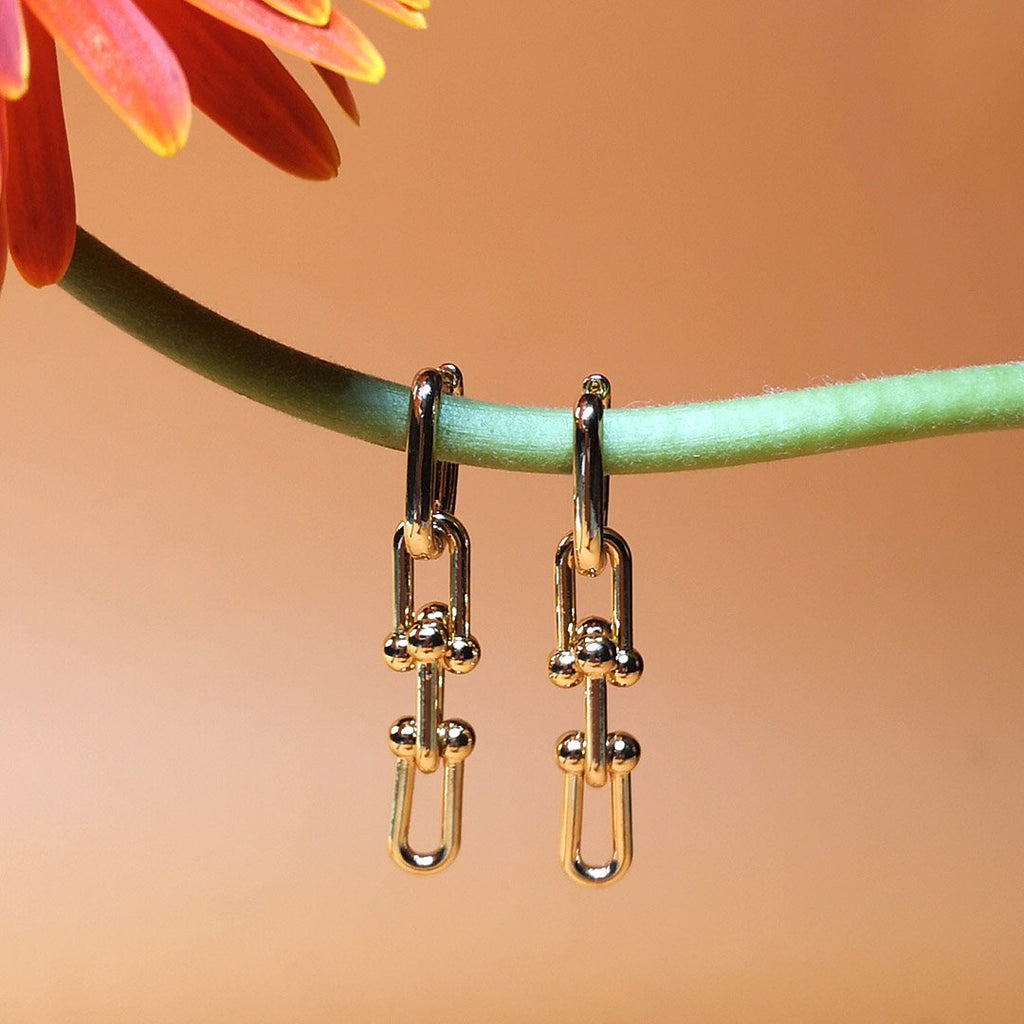 Interlocked Earrings - AF7024