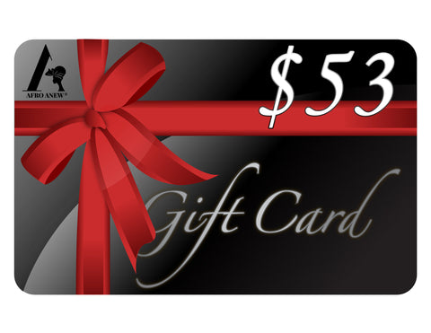 Afroanew Gift Card