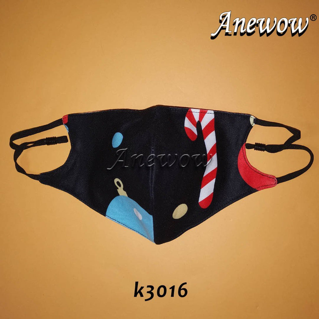 Face Covers with Satin Lining- K3016