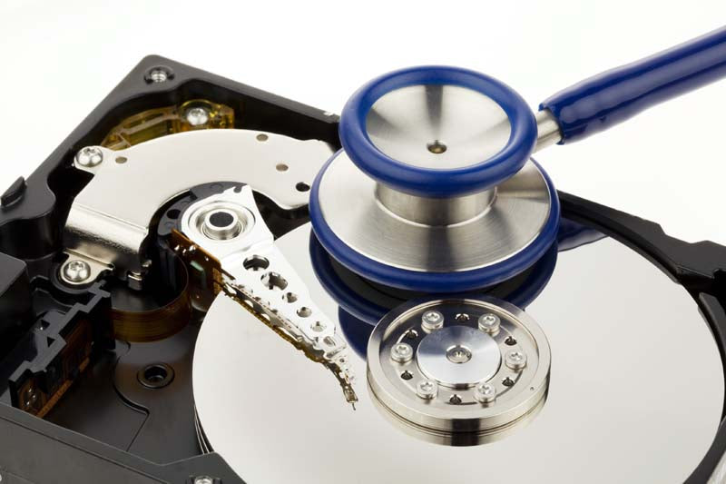 Hard Drive Data Recovery from Physical Damage