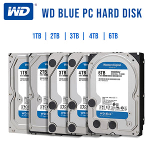 "Western Digital WD Caviar Blue 1TB/2TB/3TB/4TB/6TB 3.5"" SATA III Internal HDD Internal hard drive - Data Recovery Lab"