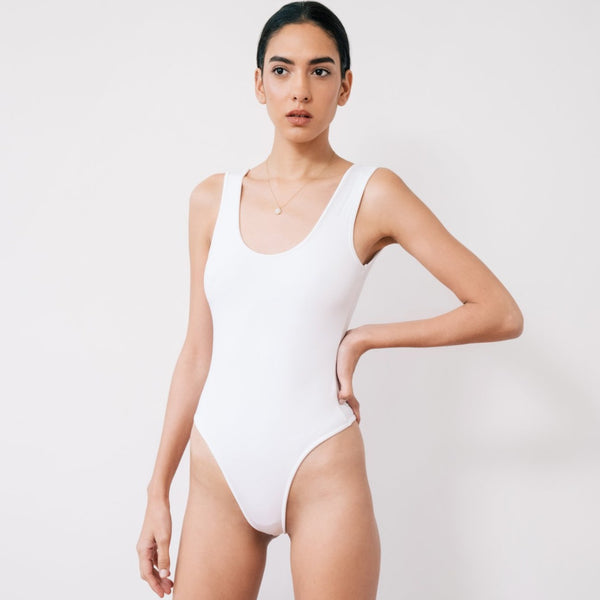 The Sleeveless Bodysuit
