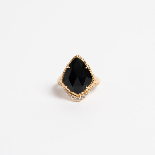Black Onyx Pinky Ring