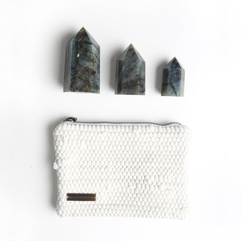 Labradorite Crystal Set